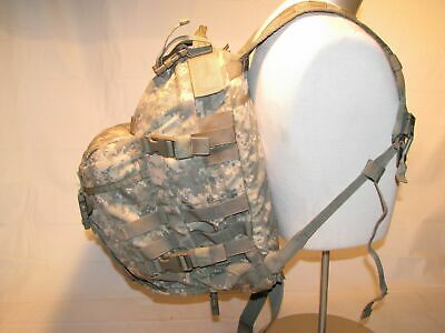 US ARMY ACU ASSAULT PACK 3 DAY MOLLE II BACKPACK w/ Stiffener VGC Made in USA 7