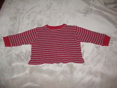 Adorable Boys' Gymboree Red Long-Sleeved Waffle Knit Shirt - Size 3 - Must see! 3