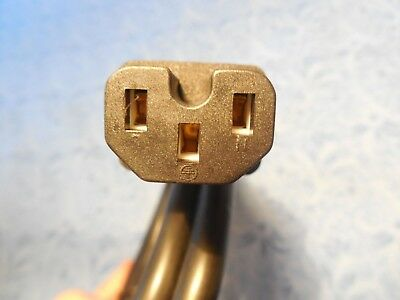 """3pin 36/"""" without notch Farberware Superfast Percolator FCP240-A G Power Cord"""