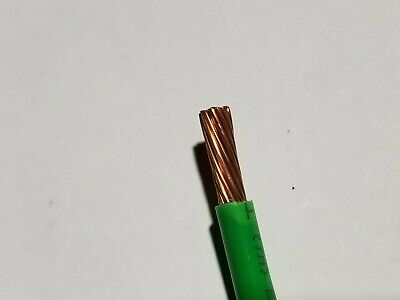 Southwire #6awg SIMpull THHN//THWN-2 Stranded Copper Building Wire Green //50ft