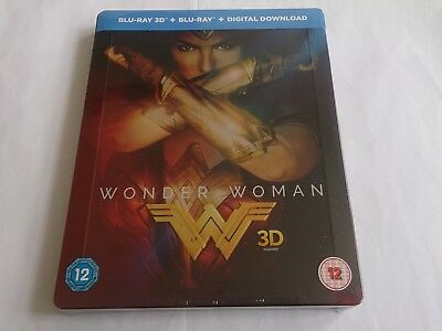 Wonder Woman 3D (4000 ONLY HMV Exclusive Limited Ed Blu-ray Steelbook) [UK 5