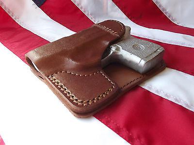 J&J CUSTOM FIT Beretta Pico Formed Wallet Style Premium Leather Pocket  Holster