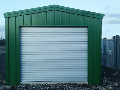 WORKSHOP/STORAGE BUILDING BY STEEL BUILD MASTERS (3.6m W x 12m L x 3m H)