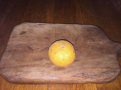 Early Antique Italian Alabaster Stone Fruit Marble Stone Tangerine Italian NM+