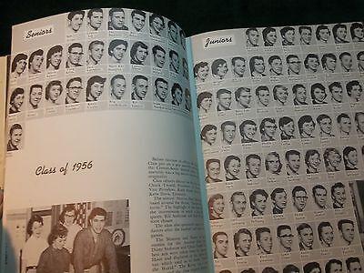 Original 1955 Creston High School Grand Rapids Michigan Yearbook