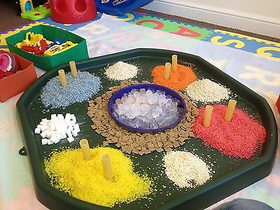 Large Plastic Children Kid Party Play Tuff Spot MIXING TRAY Toy Sand Pit Water 5