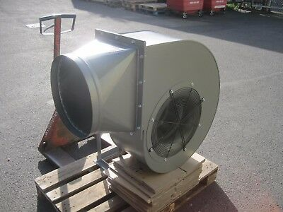 Large Industrial Centrifugal Blower Fan 4KW 2900rpm 10500m3/hr high pressure 2