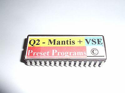 3 X ALESIS Quadraverb 2 PRESETS EPROMS VSE & MANTIS + VSE + Hybrid  Copyright