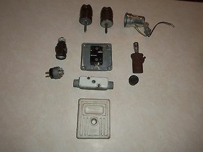 Large Lot of Vintage Electrical Items 5