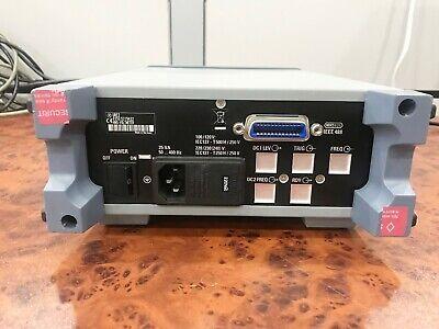 R&S 350.5315.02 RMS Voltmeter / DC , 10Hz ... 25MHz / URE2 4