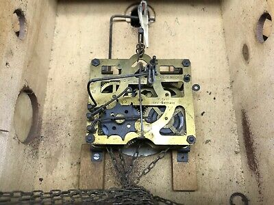 Antique Cuckoo, Control West Germany Cash Wooden Clock Pendulum 5