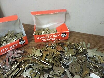 18 pounds key blanks ilco,corbin russwin, schlage, star , sargent others #2 8