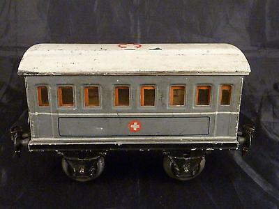Rar! - Märklin - Sanitätswagen - 1829/1 - Spur 1 - um 1920