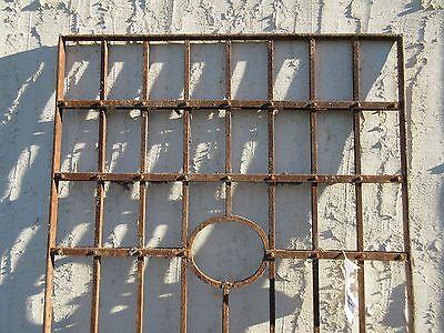 Antique Victorian Iron Gate Window Garden Fence Architectural Salvage Door #77 3