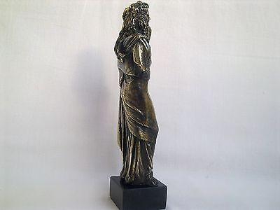 Sculpture Dionysus/Bacchus god of wine Greek Mythology statue figure brass 11