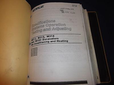 cat caterpillar m318 excavator service shop repair book manual s n rh picclick com cat m318 service manual Cat M315