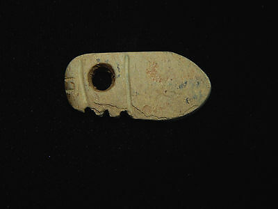 Pre-Columbian Effigy Pendant, Central America, Authentic, Ancient Pendant 4