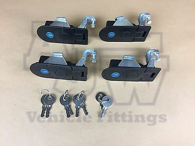 4 X Compression Latch Lock LARGE Horsebox Locker Doors Tack Box Like  SOUTHCO C5