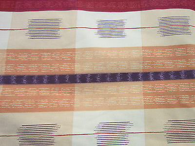 Contemporary pair of cotton curtains fully lined 48 inch wide 56 ...