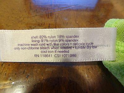 Cacique wire free unlined orange lace Cami Full Coverage bra plus size 18//20