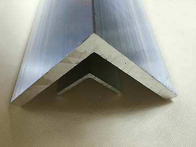 Aluminium Angle L Profile Mill Finish 6060 Grade Various Lengths Thickness 2 3 4 2