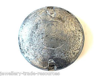 "4"" Brass & Lead Clock Pendulum Bob Spares & Repairs Grandfather Longcase Etc 2"