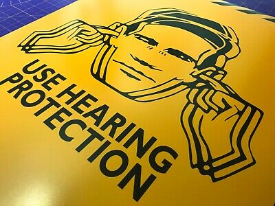 USE HEARING PROTECTION • FAC51 Hacienda Manchester • Poster Print • A4 - A2 size 2