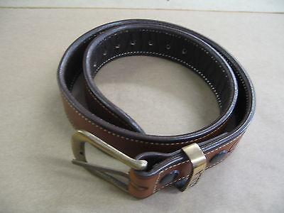 """Ruger SR 1911 5/"""" OWB Leather 2 Slot Molded Pancake Belt Holster CCW TAN RH"""