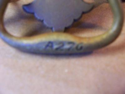 (10) Antique Brass Drawer Pulls / Handles -- Solid Brass -- W/ Original Screws 7