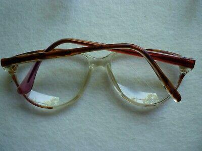 Stöffler Damen Brille  4031 - 2 vintage glasses 70er rot / braun 4