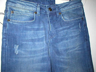 New Womens Designer Sass Bide Jeans Nwt High Rise Flare 24 Distressed Tall 88 20 Picclick
