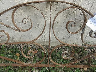 Antique Victorian Iron Gate Window Garden Fence Architectural Salvage #828 4