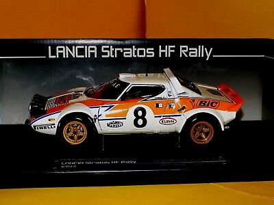 1:43 Minichamps Lancia Stratos HF rally BIC-Rally Acrópolis 1978-siroco