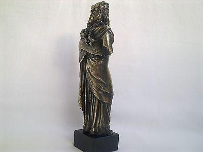 Sculpture Dionysus/Bacchus god of wine Greek Mythology statue figure brass 10
