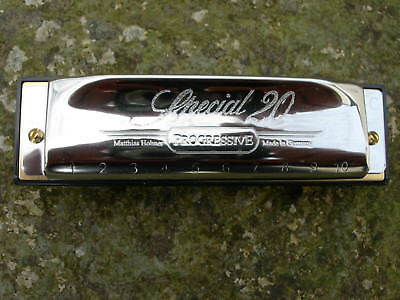 Hohner Special 20 Diatonic Harmonica  New  ( Free Online Lessons For A Month ) 3