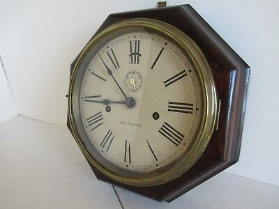 "Seth Thomas 8-day ""Lever"" wall clock 2"