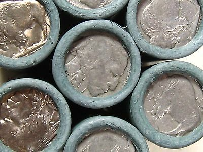 ONE UNSEARCHED - Buffalo Nickel Roll 40 Coins - 1913 1938 P D S (247)