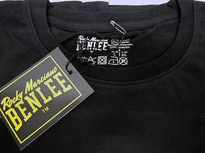 Benlee rocky Marciano Logo promo regular fit t-shirt black yellow white