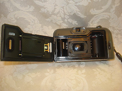 BELL HOWELL PZ2200 35mm FILM  POINT AND SHOOT CAMERA 35-70mm LENS/ LEATHER CASE 7