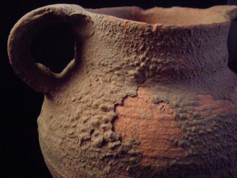 Herodian Terracotta Cooking Pot   50 BC - 150 CE Ancient Pottery 8