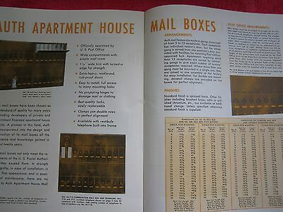 1940's AUTH, APARTMENT DOOR CHIMES,BELLS,TELEPHONE SYSTEMS,MAIL BOXES BROCHURE 3