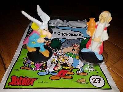n°27 - 2 figurines Astérix Mc DO 2019 Moralélastix & Panoramix - NEUF s/ blister 3