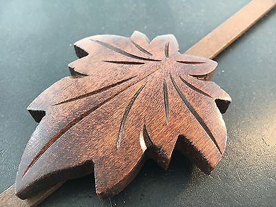 German Cuckoo Clock Pendulum Large Leaf  for Eight Day Movements 2