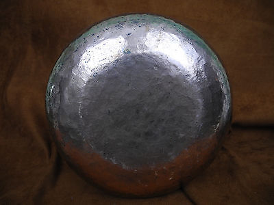 Antique Islamic Arabic Persian Copper Pail or Handled Pot with intricate work 8