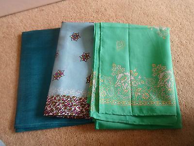 3 NEW Colourful Mixed Fibre Ethnic Scarves Ladies Scarf ~ Xmas Gift Idea  #33 4