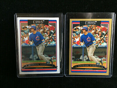2006 Topps Lot of 27 Chicago Cubs: Maddux, Barrett, GOLD Serial, Rich Hill RC 7