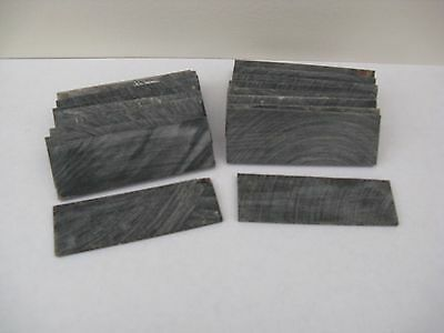 20 BUFFALO HORN SLICES 25 mmx 75 mm FOR WALKING STICKMAKING/ JEWELLERY/ CRAFTS 2