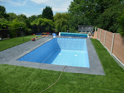 SWIMMING POOL DIY SELF BUILD BLOCK & LINER POOL KIT 24 ft X ...