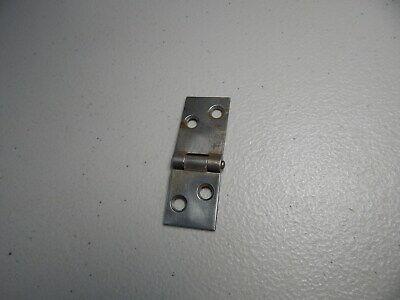"""Vintage!  1"""".5  Metal Door/Box Hinge Made In USA 2"""