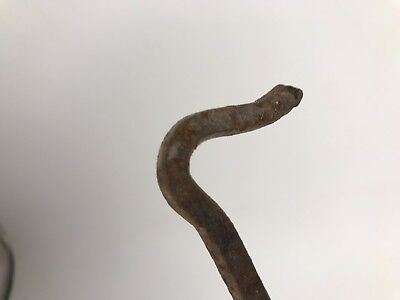 Antique/Vintage 6 Inch Hand Forged Twisted Gate, Door, Shed, Hook, Lock Or Latch 2